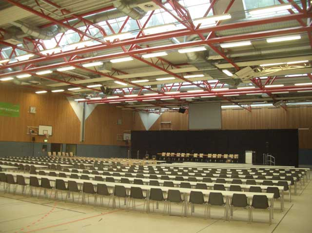 Event-Location 'Dreifachhalle'